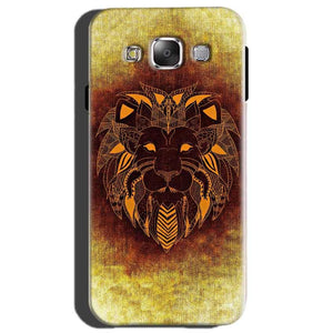Samsung Galaxy On7 Mobile Covers Cases Lion face art - Lowest Price - Paybydaddy.com