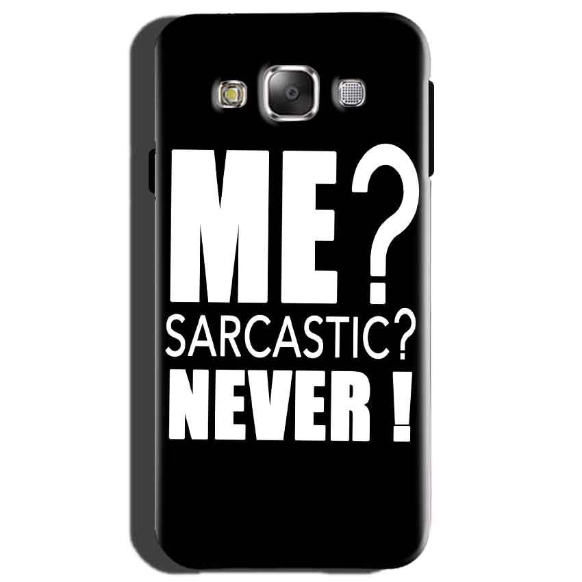 Samsung Galaxy On7 Mobile Covers Cases Me sarcastic - Lowest Price - Paybydaddy.com
