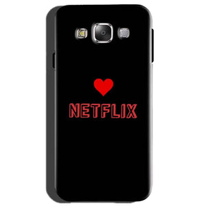 Samsung Galaxy On7 Mobile Covers Cases NETFLIX WITH HEART - Lowest Price - Paybydaddy.com
