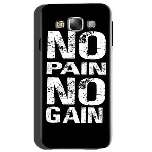 Samsung Galaxy On7 Mobile Covers Cases No Pain No Gain Black And White - Lowest Price - Paybydaddy.com