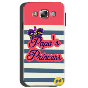 Samsung Galaxy On7 Mobile Covers Cases Papas Princess - Lowest Price - Paybydaddy.com