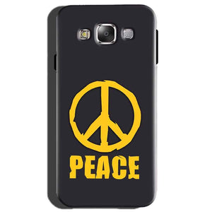 Samsung Galaxy On7 Mobile Covers Cases Peace Blue Yellow - Lowest Price - Paybydaddy.com