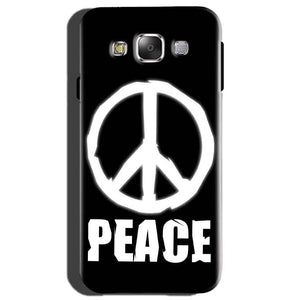 Samsung Galaxy On7 Mobile Covers Cases Peace Sign In White - Lowest Price - Paybydaddy.com