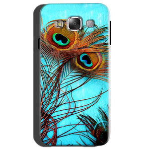 Samsung Galaxy On7 Mobile Covers Cases Peacock blue wings - Lowest Price - Paybydaddy.com