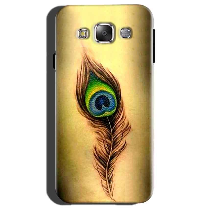 Samsung Galaxy On7 Mobile Covers Cases Peacock coloured art - Lowest Price - Paybydaddy.com