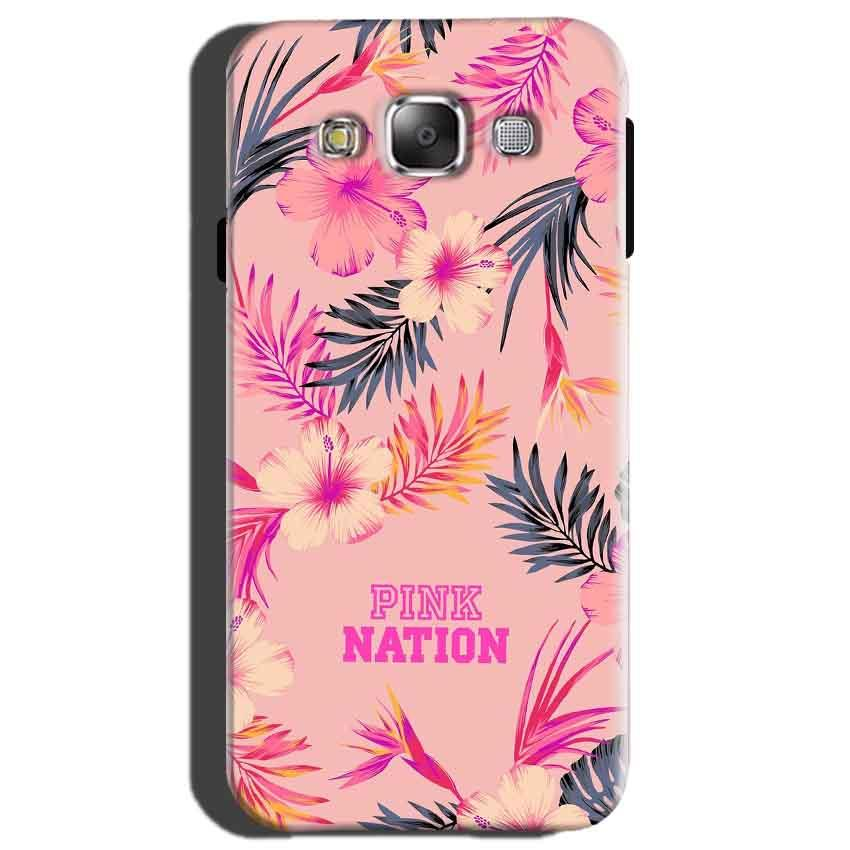 Samsung Galaxy On7 Mobile Covers Cases Pink nation - Lowest Price - Paybydaddy.com
