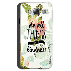 Samsung Galaxy On7 Pro Mobile Covers Cases Do all things with kindness - Lowest Price - Paybydaddy.com