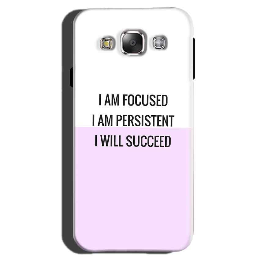 Samsung Galaxy On7 Pro Mobile Covers Cases I am Focused - Lowest Price - Paybydaddy.com