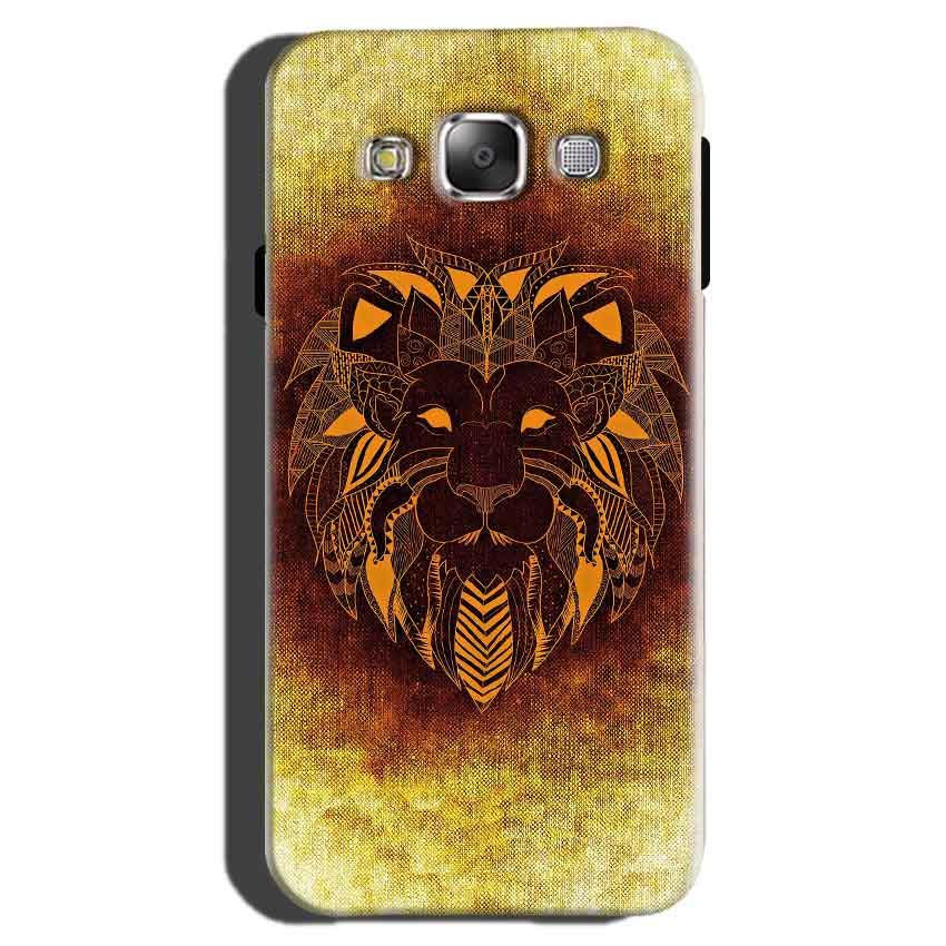 Samsung Galaxy On7 Pro Mobile Covers Cases Lion face art - Lowest Price - Paybydaddy.com