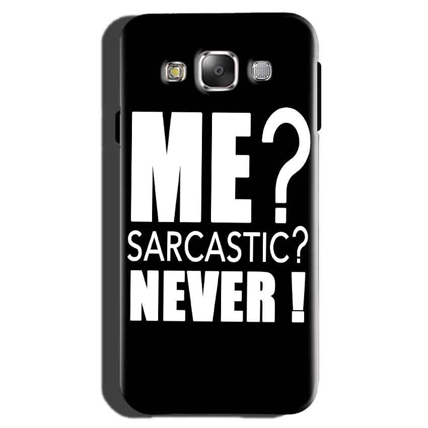 Samsung Galaxy On7 Pro Mobile Covers Cases Me sarcastic - Lowest Price - Paybydaddy.com