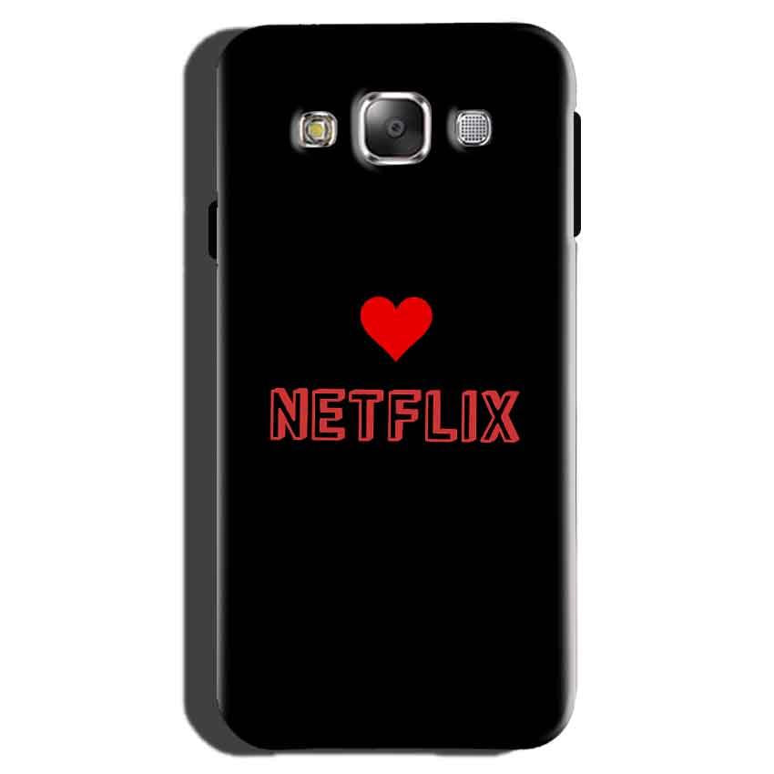 Samsung Galaxy On7 Pro Mobile Covers Cases NETFLIX WITH HEART - Lowest Price - Paybydaddy.com