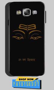 Samsung Galaxy On7 Pro Mobile Covers Cases Om Namaha Gold Black - Lowest Price - Paybydaddy.com