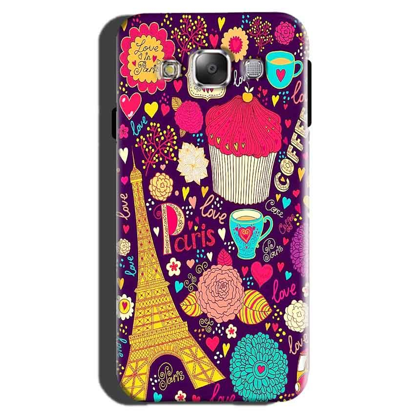 Samsung Galaxy On7 Pro Mobile Covers Cases Paris Sweet love - Lowest Price - Paybydaddy.com