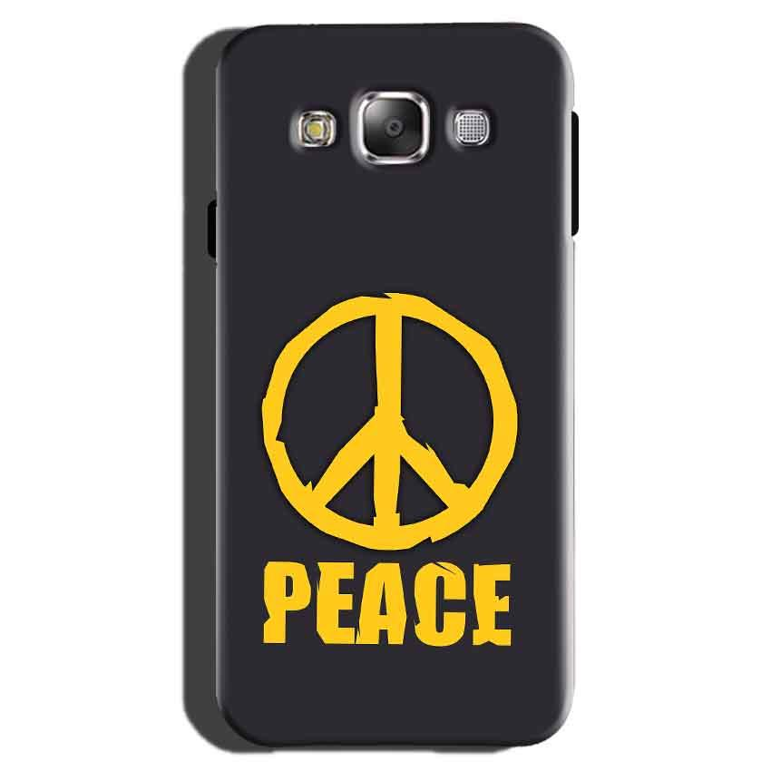 Samsung Galaxy On7 Pro Mobile Covers Cases Peace Blue Yellow - Lowest Price - Paybydaddy.com