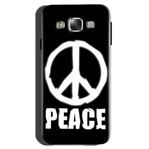 Samsung Galaxy On7 Pro Mobile Covers Cases Peace Sign In White - Lowest Price - Paybydaddy.com