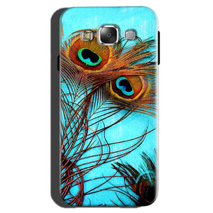 Samsung Galaxy On7 Pro Mobile Covers Cases Peacock blue wings - Lowest Price - Paybydaddy.com