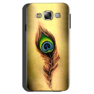 Samsung Galaxy On7 Pro Mobile Covers Cases Peacock coloured art - Lowest Price - Paybydaddy.com