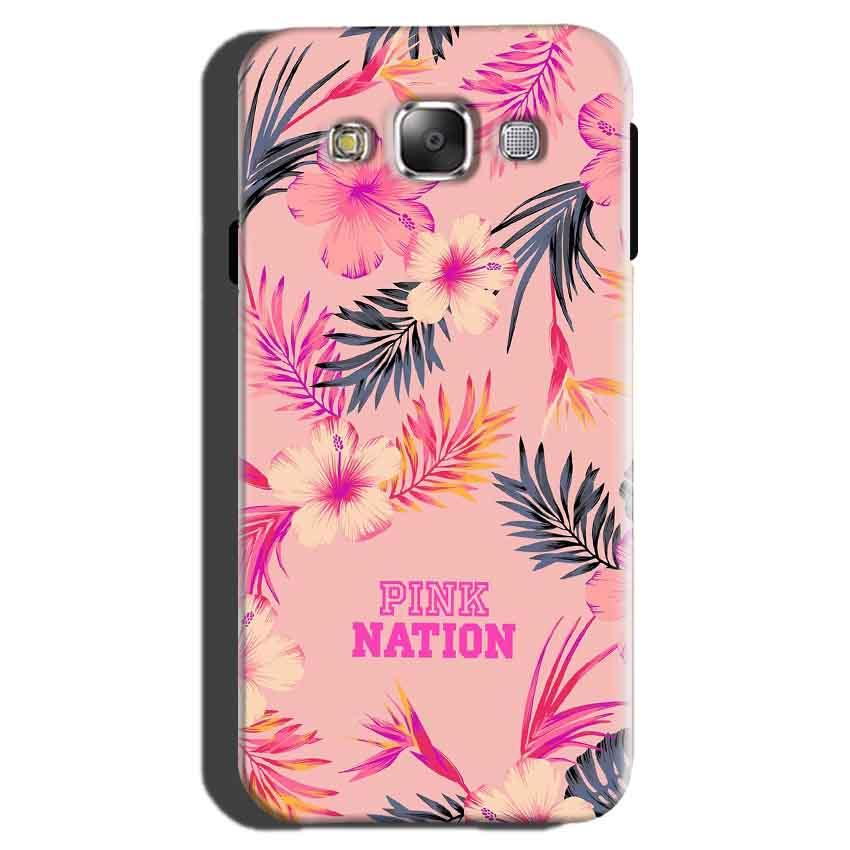 Samsung Galaxy On7 Pro Mobile Covers Cases Pink nation - Lowest Price - Paybydaddy.com