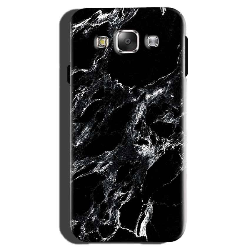 Samsung Galaxy On7 Pro Mobile Covers Cases Pure Black Marble Texture - Lowest Price - Paybydaddy.com