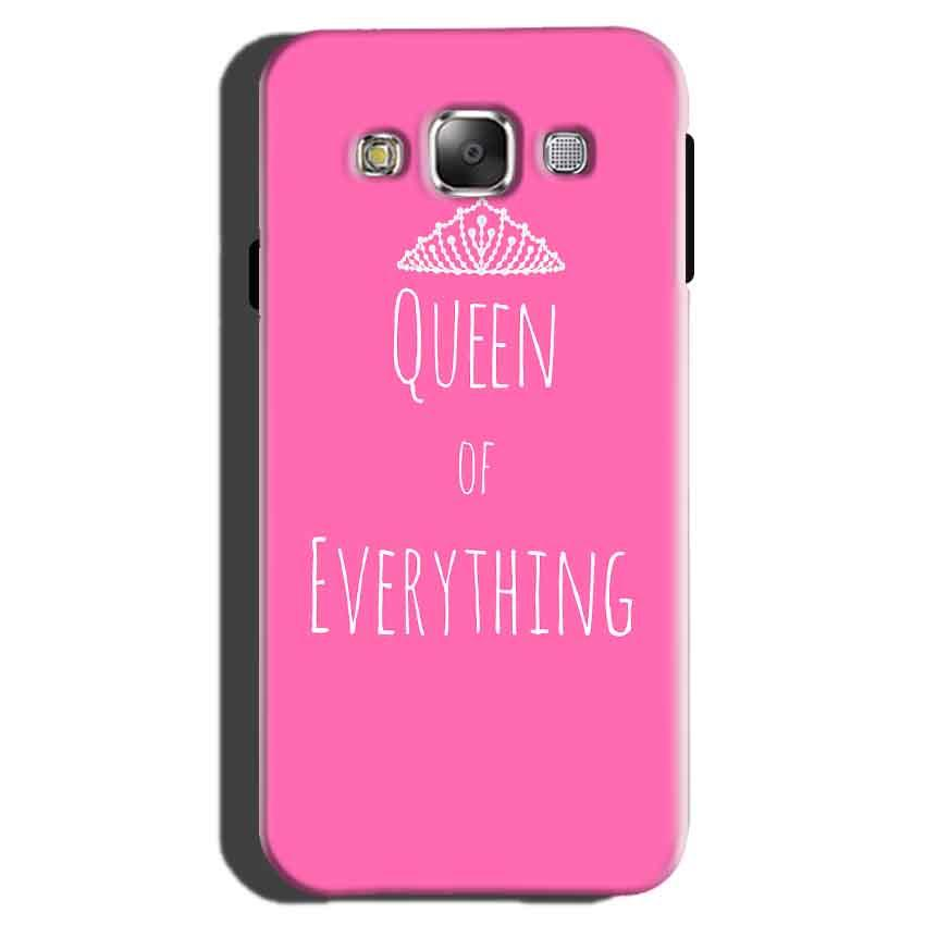 Samsung Galaxy On7 Pro Mobile Covers Cases Queen Of Everything Pink White - Lowest Price - Paybydaddy.com