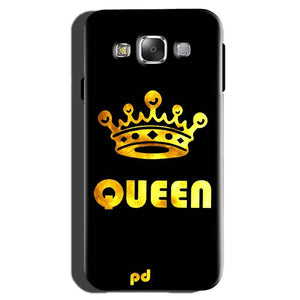 Samsung Galaxy On7 Pro Mobile Covers Cases Queen With Crown in gold - Lowest Price - Paybydaddy.com