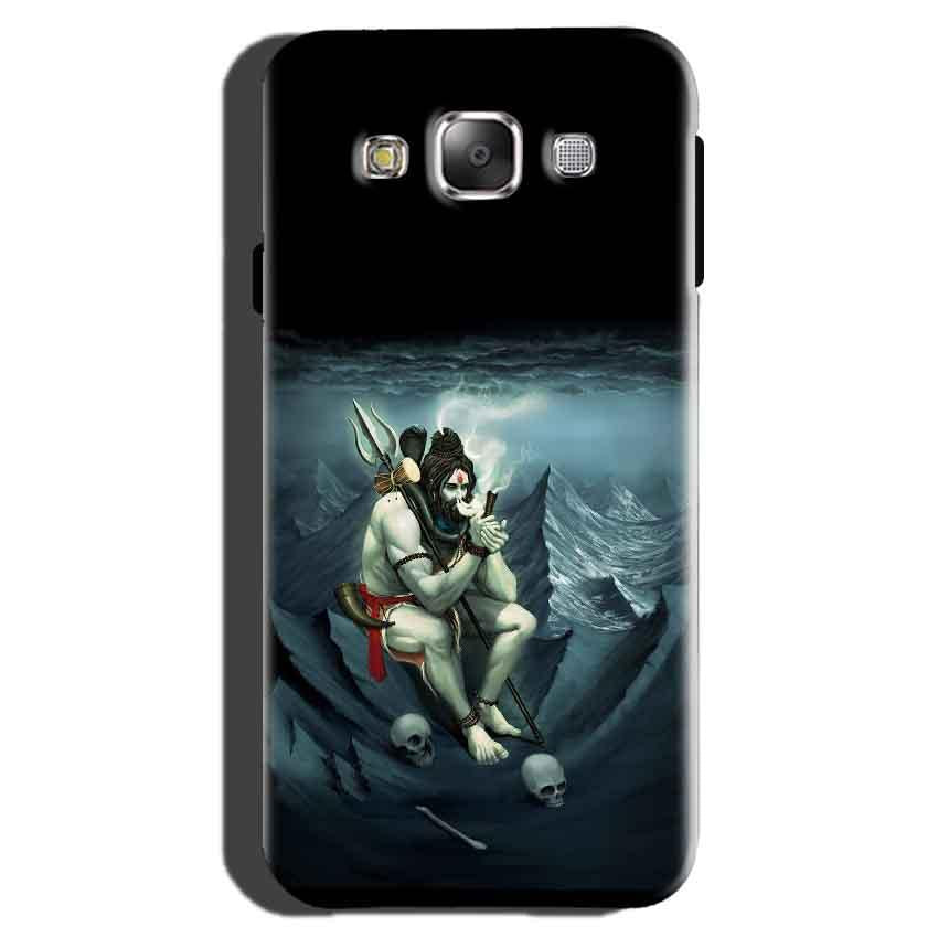 Samsung Galaxy On7 Pro Mobile Covers Cases Shiva Smoking - Lowest Price - Paybydaddy.com