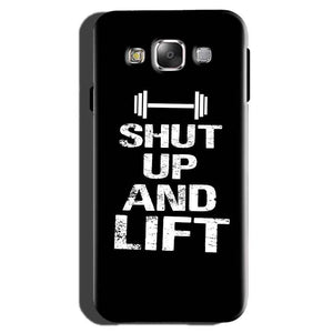 Samsung Galaxy On7 Pro Mobile Covers Cases Shut Up And Lift - Lowest Price - Paybydaddy.com