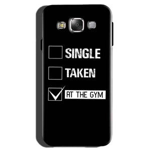 Samsung Galaxy On7 Pro Mobile Covers Cases Single Taken At The Gym - Lowest Price - Paybydaddy.com