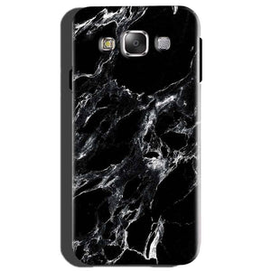 Samsung Galaxy On7 Mobile Covers Cases Pure Black Marble Texture - Lowest Price - Paybydaddy.com