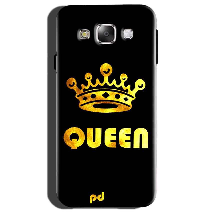 Samsung Galaxy On7 Mobile Covers Cases Queen With Crown in gold - Lowest Price - Paybydaddy.com