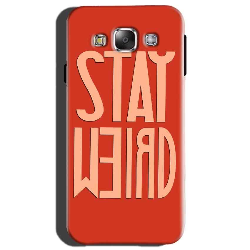 Samsung Galaxy On7 Mobile Covers Cases Stay Weird - Lowest Price - Paybydaddy.com