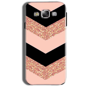 Samsung Galaxy On8 Mobile Covers Cases Black down arrow Pattern - Lowest Price - Paybydaddy.com