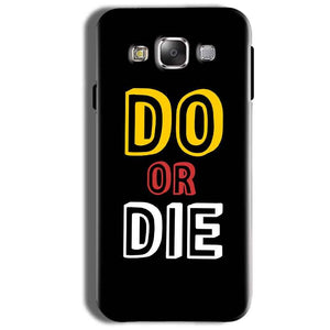 Samsung Galaxy On8 Mobile Covers Cases DO OR DIE - Lowest Price - Paybydaddy.com