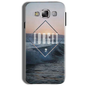 Samsung Galaxy On8 Mobile Covers Cases Forget Quote Something Different - Lowest Price - Paybydaddy.com