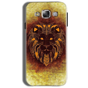 Samsung Galaxy On8 Mobile Covers Cases Lion face art - Lowest Price - Paybydaddy.com