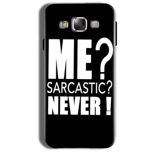 Samsung Galaxy On8 Mobile Covers Cases Me sarcastic - Lowest Price - Paybydaddy.com