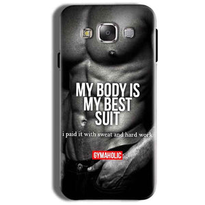 Samsung Galaxy On8 Mobile Covers Cases My Body is my best suit - Lowest Price - Paybydaddy.com