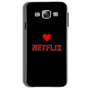 Samsung Galaxy On8 Mobile Covers Cases NETFLIX WITH HEART - Lowest Price - Paybydaddy.com
