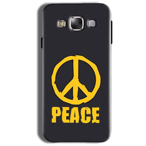 Samsung Galaxy On8 Mobile Covers Cases Peace Blue Yellow - Lowest Price - Paybydaddy.com