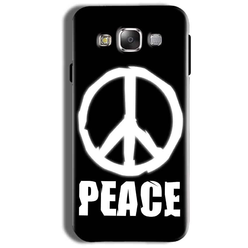 Samsung Galaxy On8 Mobile Covers Cases Peace Sign In White - Lowest Price - Paybydaddy.com