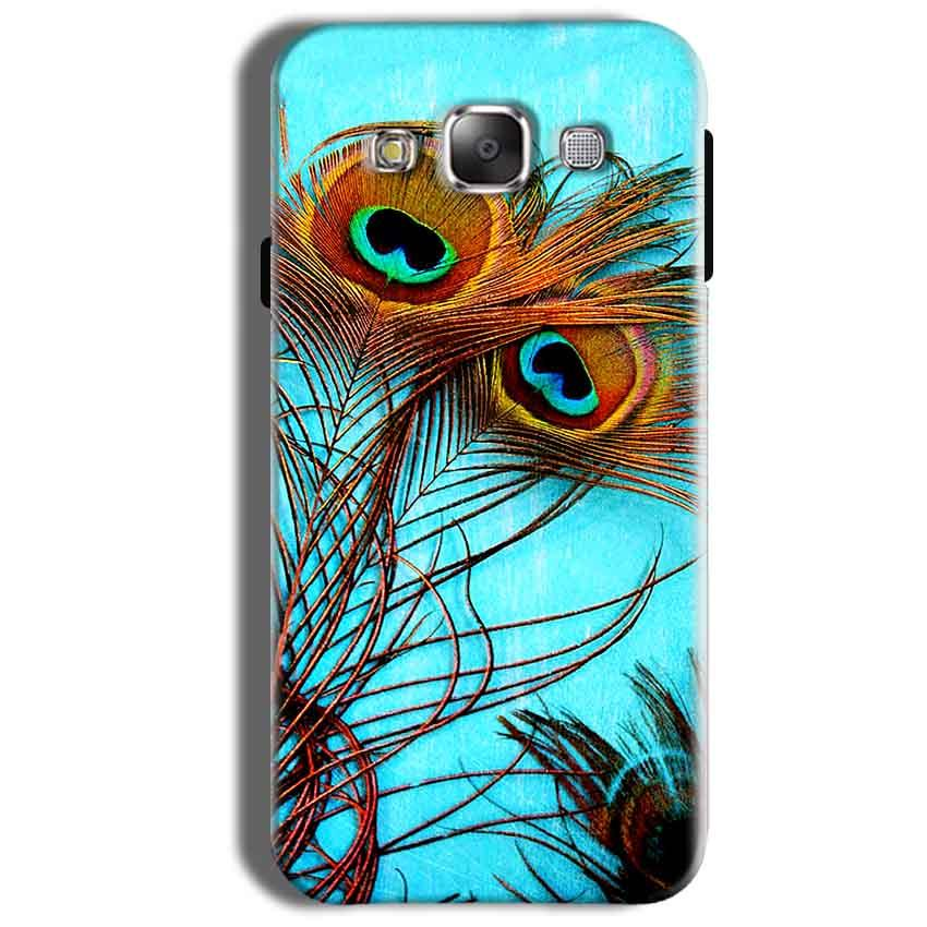 Samsung Galaxy On8 Mobile Covers Cases Peacock blue wings - Lowest Price - Paybydaddy.com