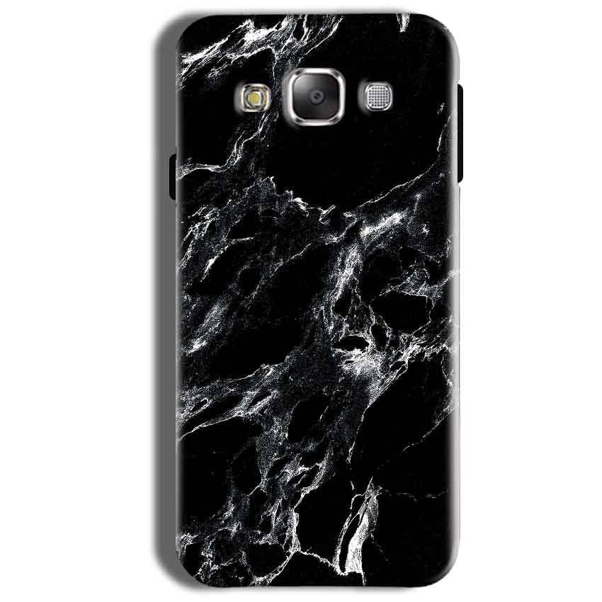 Samsung Galaxy On8 Mobile Covers Cases Pure Black Marble Texture - Lowest Price - Paybydaddy.com