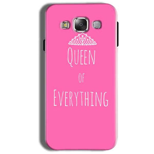 Samsung Galaxy On8 Mobile Covers Cases Queen Of Everything Pink White - Lowest Price - Paybydaddy.com