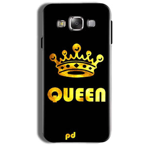 Samsung Galaxy On8 Mobile Covers Cases Queen With Crown in gold - Lowest Price - Paybydaddy.com
