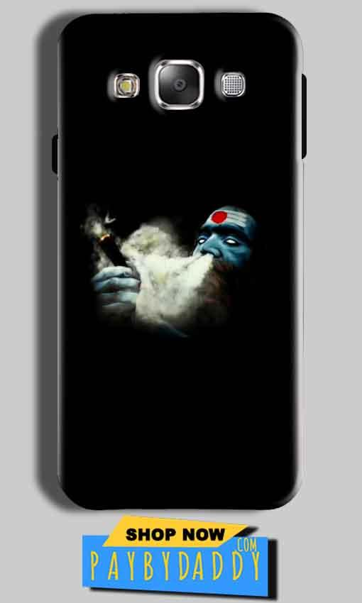 Samsung Galaxy On8 Mobile Covers Cases Shiva Aghori Smoking - Lowest Price - Paybydaddy.com