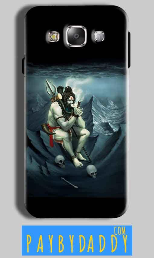 Samsung Galaxy On8 Mobile Covers Cases Shiva Smoking - Lowest Price - Paybydaddy.com