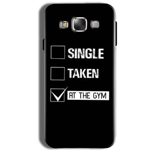 Samsung Galaxy On8 Mobile Covers Cases Single Taken At The Gym - Lowest Price - Paybydaddy.com