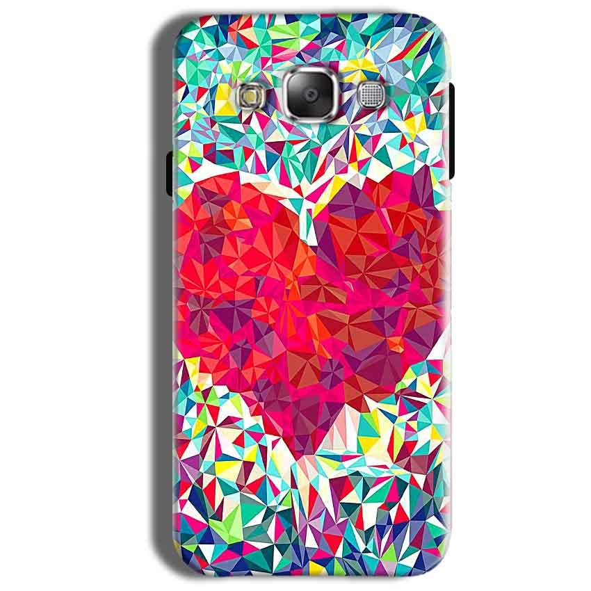 Samsung Galaxy On8 Mobile Covers Cases heart Prisma design - Lowest Price - Paybydaddy.com