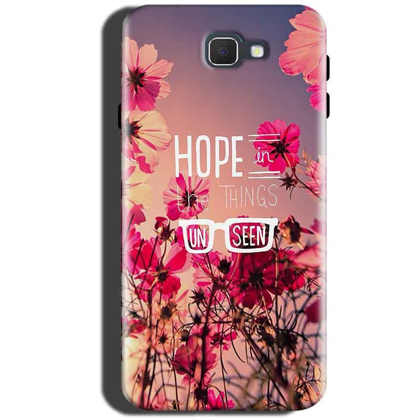 Samsung Galaxy On Max Mobile Covers Cases Hope in the Things Unseen- Lowest Price - Paybydaddy.com