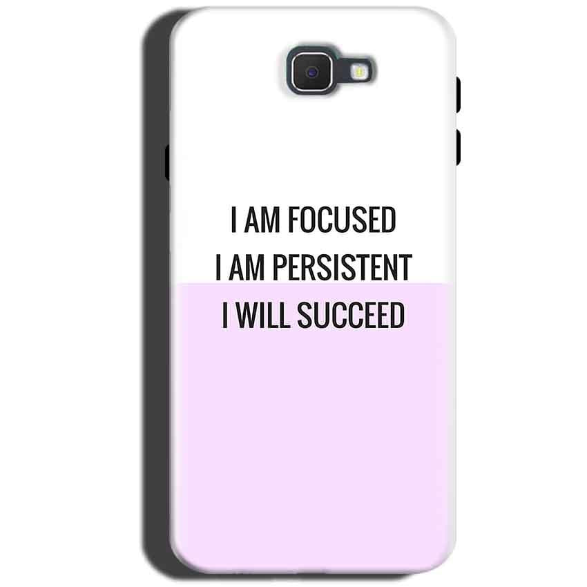 Samsung Galaxy On Max Mobile Covers Cases I am Focused - Lowest Price - Paybydaddy.com